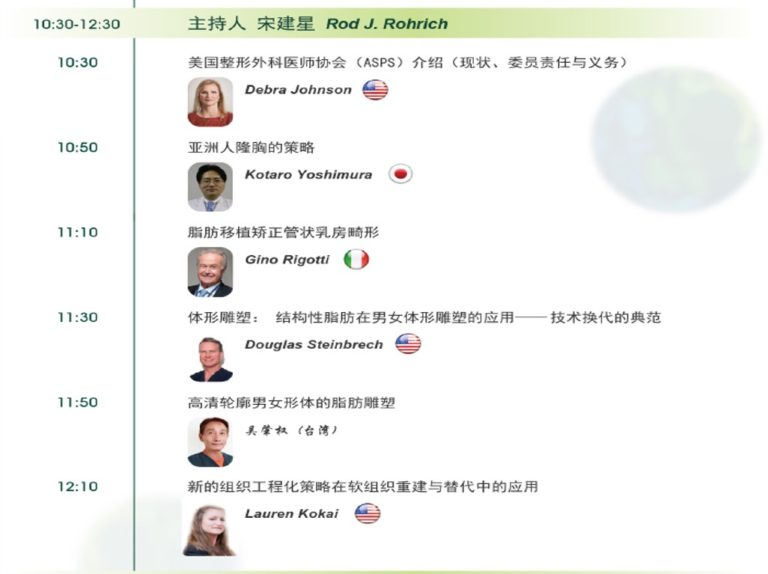 吳肇權院長出席上海全國脂肪大會演講威塑抽脂